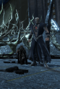 Blackest Night - Nekron and Black Hand