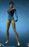 Iconic Deathstroke Female