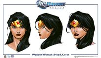 WonderWoman head colour