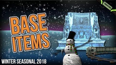 DCUO Winter Event 2018 Base Items & Snowman Base Pet