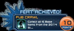 Feat - Pub Crawl