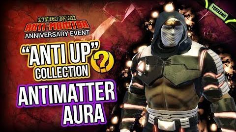 "DCUO Anniversary Event 2019 Antimatter Aura - ""Anti Up"" Collection Reward"