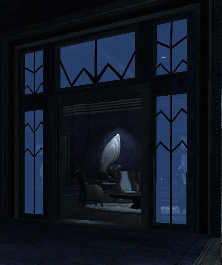 Image - Art Deco Doorframe and Elegant Sculpture (Iceberg Lounge ...