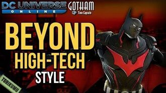 DCUO Beyond High-Tech Style (Inspired by Batman Beyond) Gotham Time Capsule