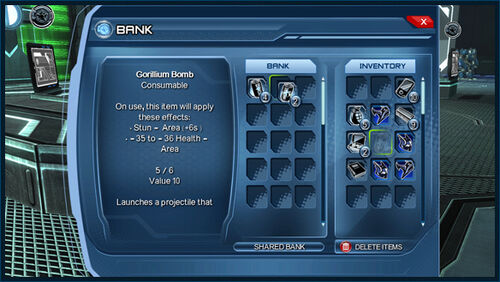 1 PC dcuo UI Bank