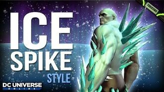 DCUO Winter Event 2019 Ice Spike Styles