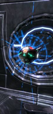EMP combat orb blue
