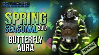 """DCUO """"Swamp Things"""" Collection Reward - Butterfly Aura Spring Event 2017"""