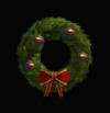 Superman Holiday Wreath