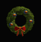 Superman Holiday Wreath