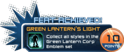 Feat - Green Lantern's Light