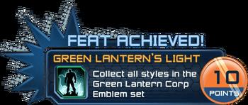 Feat - Green Lantern's Light