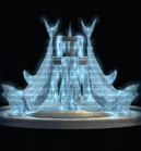 Frozen Shark Fountain