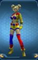 DC Bombshell Set without Face with Bombshell Hair