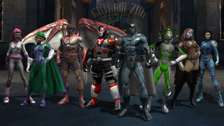 Batman Rebirth Emblem Dc Universe Online Wiki Fandom Powered By