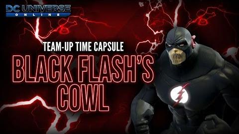 "DCUO ""The Black Flash Analysis"" Collection Reward - Black Flash's Cowl"