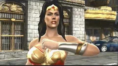 Mortal Kombat vs DC Chapter 3 - Wonder Woman