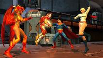 SupermanPowerGirl