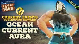DCUO Summer Event 2019 Current Events Collection Reward - Ocean Current Aura