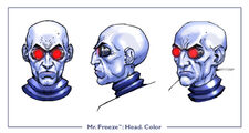 MrFreeze head color