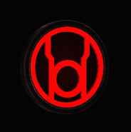 Red Lantern Corps Wall Banner