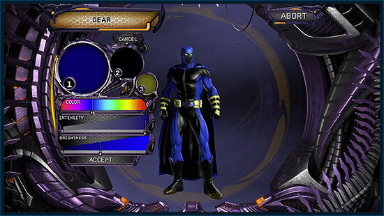 DCUO CC Costume Colors Gear 01