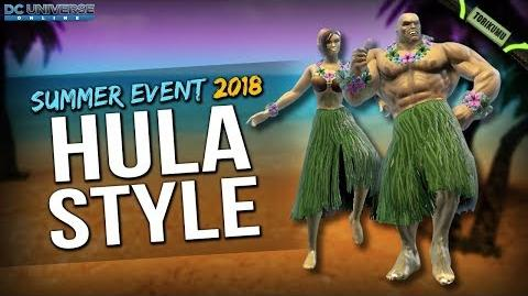 DCUO Hula Style Summer Event 2018