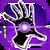 Icon Hand Blast 001 Purple