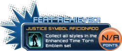 Feat - Justice Symbol Aficionado