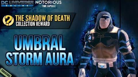 """DCUO """"The Shadow of Death"""" Collection Reward Umbral Storm Aura-0"""