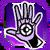 Icon Hand Blast 013 Purple