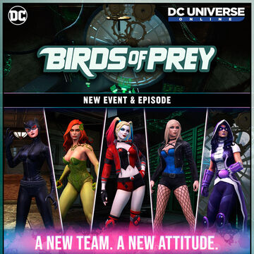 Birds Of Prey Dc Universe Online Wiki Fandom