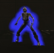 Dark Blue Aura