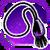 Icon Neck 004 Purple