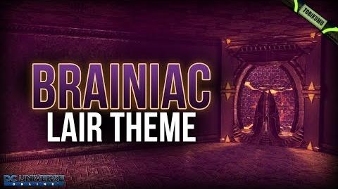 DCUO Brainiac Lair Theme FREE ANNIVERSARY 2019 GIFT for DCUO Members