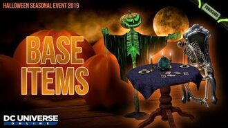 DCUO Halloween 2019 Base Items