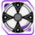 Icon Shield 008 Purple