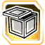 BI Crate Middle Gold