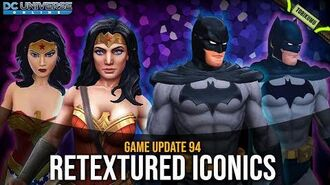 DCUO Game Update 94 Retextured Iconic NPCs