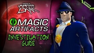 "DCUO Episode 34 ""Magic Artifacts"" Investigation Guide & Reward"