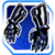 Icon Hands 008 Blue