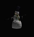 Icy Snow Man