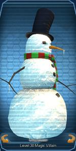 Spirited Snowman