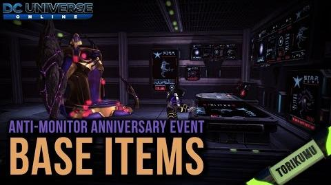 DCUO Anniversary Event 2017 Base Items