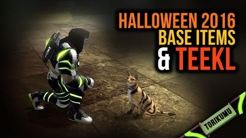 DCUO Halloween 2016 Base Items & Teekl Totem