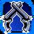 Icon Dual Pistol 005 Blue