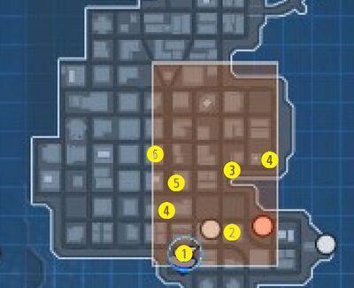 Nightwing Bounty Map
