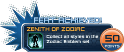 Feat - Zenith of Zodiac