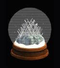 Fortress of Solitude Snow Globe