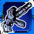 Icon Dual Pistol 007 Blue